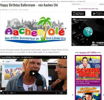 """Ballermann-Stars Gratulieren """"ihrer"""" Partymarke Zum 20."""
