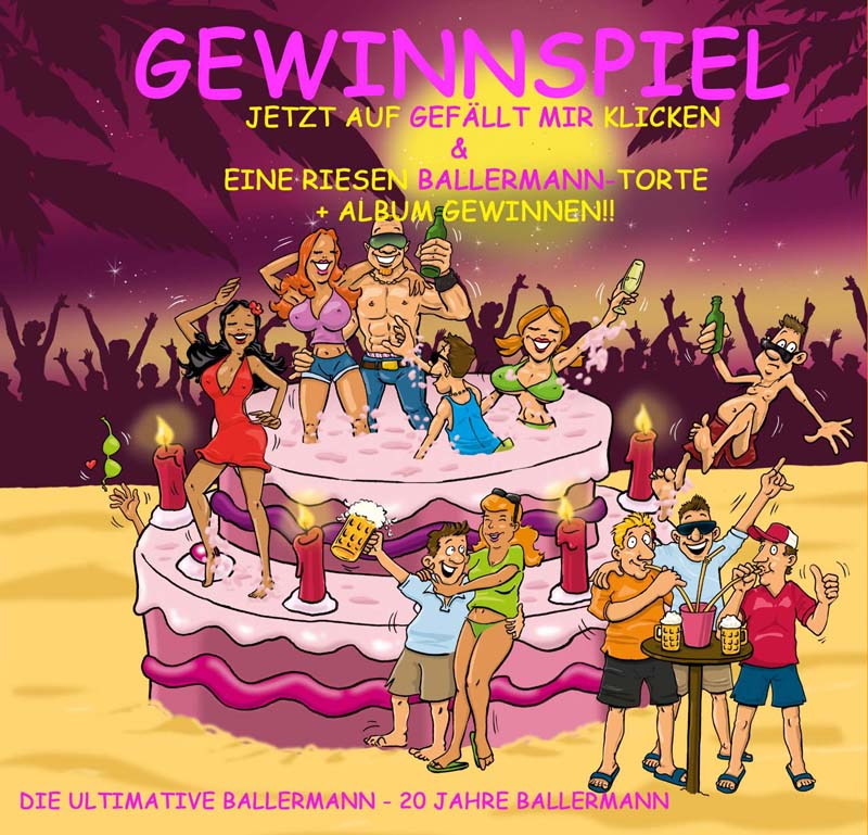 GEWINNSPIEL Zum Ballermann Jubiläum