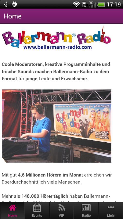 Mehr Als 10.000 Hörer Haben Ballermann-Radio-App Auf Dem Handy