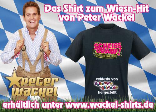 Münchener Oktoberfest Und Das Peter-Wackel-Shirt