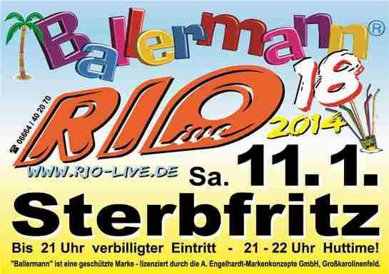 Traditionell Und Legendär: Die (immer) Erste Ballermann-Fete Des Jahres!!