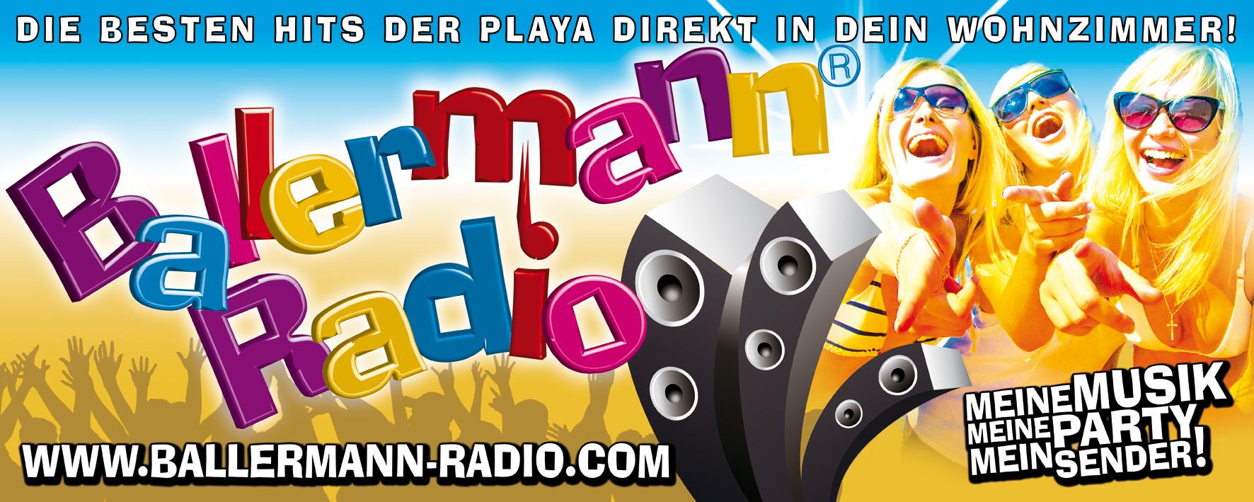 BALLERMANN RADIO: Neue Website Zum Jubiläum!!