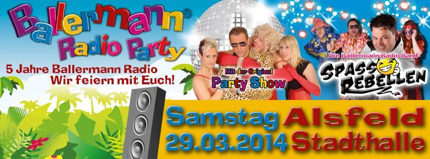 Ballermann Radio Geburtstagsparty