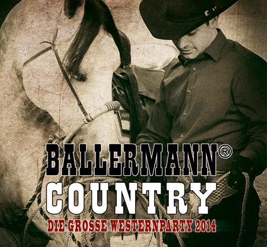 BALLERMANN COUNTRY – Die Große Westernparty 2014
