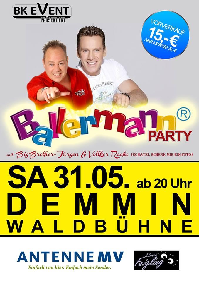 Das Original! Ballermann Party In Demmin (Waldbühne)