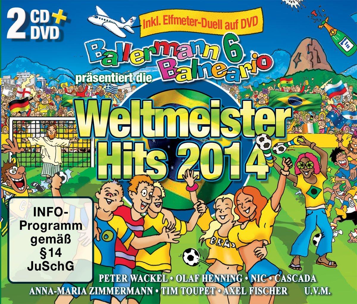 Ballermann 6 – Balneario: Weltmeister Hits 2014 Incl. DVD-Spiel