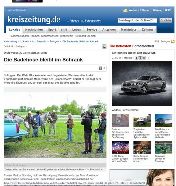 RTL Explosiv Weekend – Dreharbeiten Auf Der Ballermann Ranch