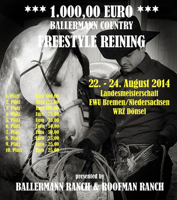 BALLERMANN COUNTRY – € 1.000,00 Preisgeld