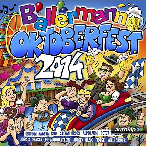 BALLERMANN´s OKTOBERFEST 2014 – O`Zapft Is!