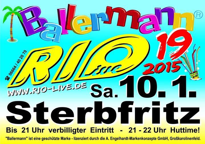 Folge 19: BALLERMANN Mit RIO – Live In Sterbfritz