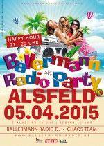 Ballermann Party Am 05.04.2015 In Der Stadthalle Alsfeld