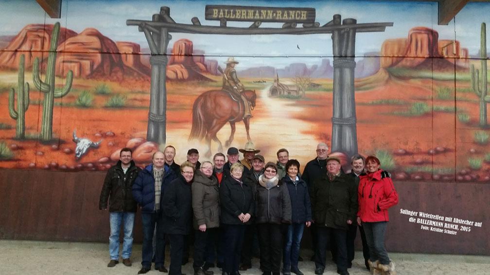 Sulinger Wirte: Stippvisite Auf Der Ballermann Ranch