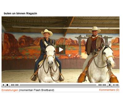 TV-Beitrag über Ballermann Ranch