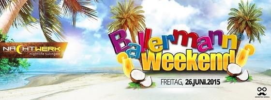 BALLERMANN-WEEKEND In Sulingen
