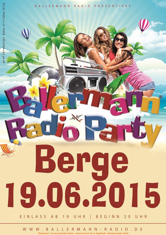 7. Inselparty In Berge Mit Ballermann Radio