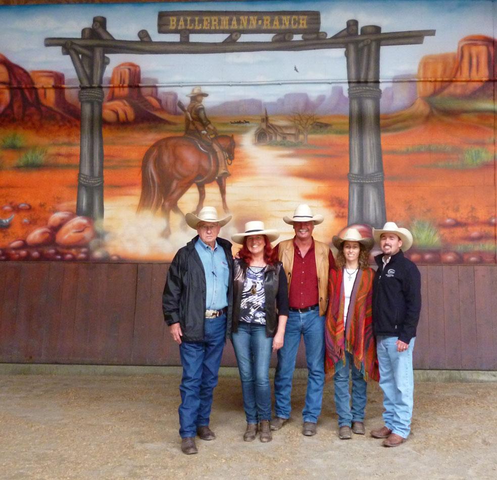 STACY WESTFALL – Amerikas Star-Pferdetrainerin Zu Gast Auf Der Ballermann Ranch In Blockwinkel