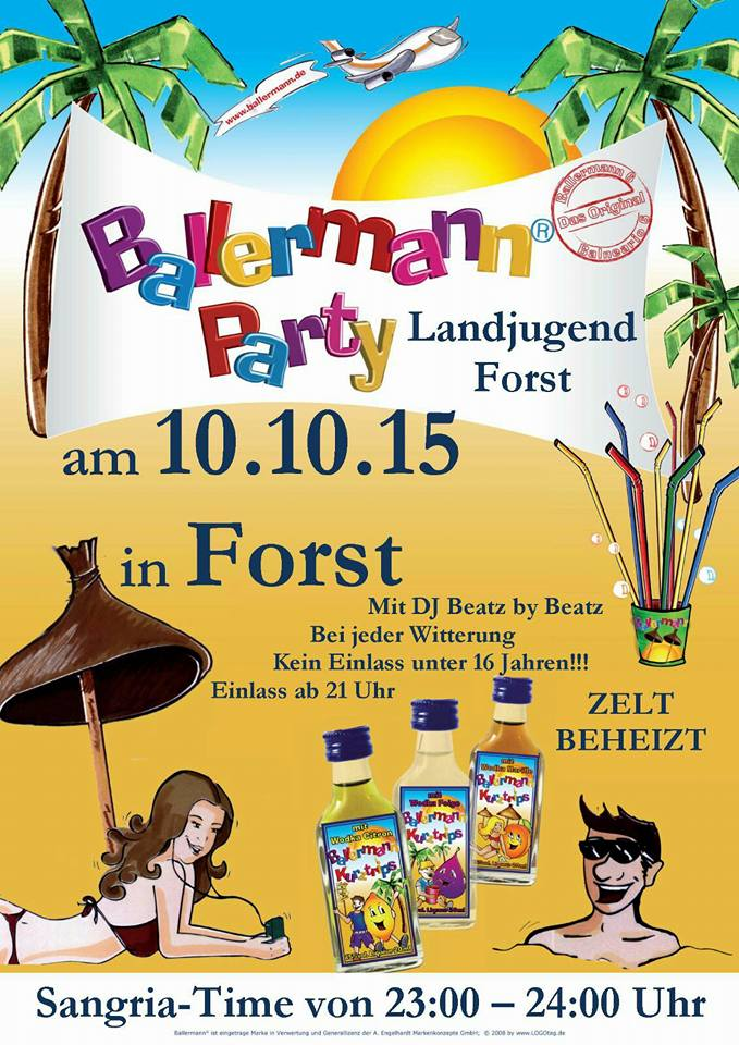 """Wieder """"Ballermann"""" In Forst / Wessobrunn"""