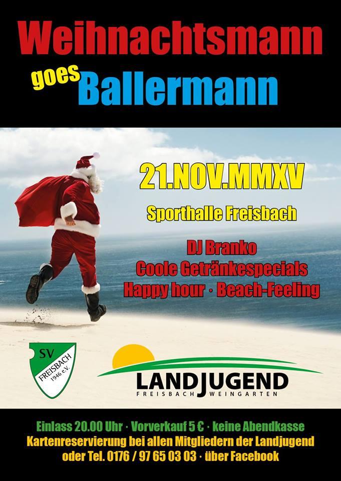 Weihnachtsmann Goes Ballermann – Die Party!