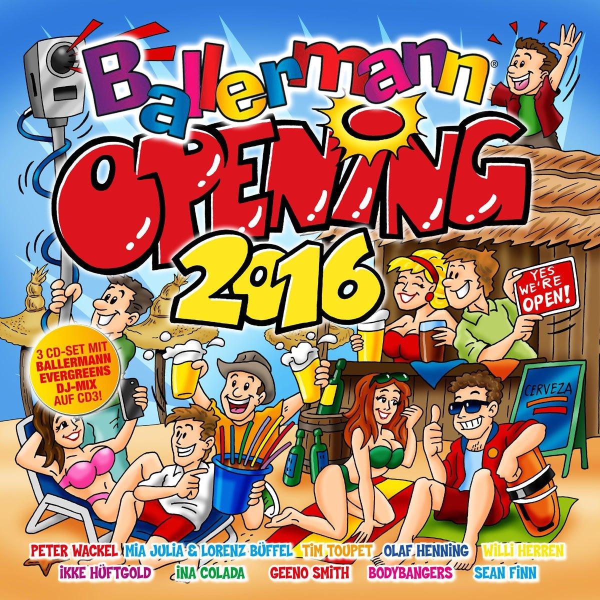 BALLERMANN OPENING 2016
