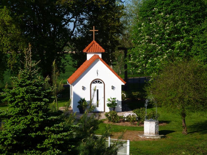 St. Leonhard Kapelle in Blockwinkel auf der Ballermann Ranch