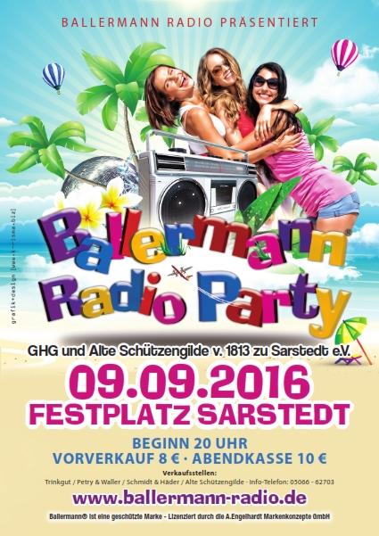 Ballermann Radio Party In Sarstedt