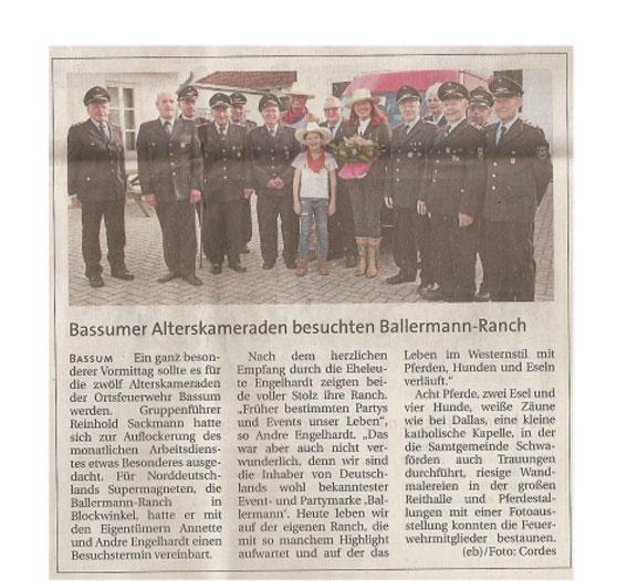 Weser Kurier 24.08.2016
