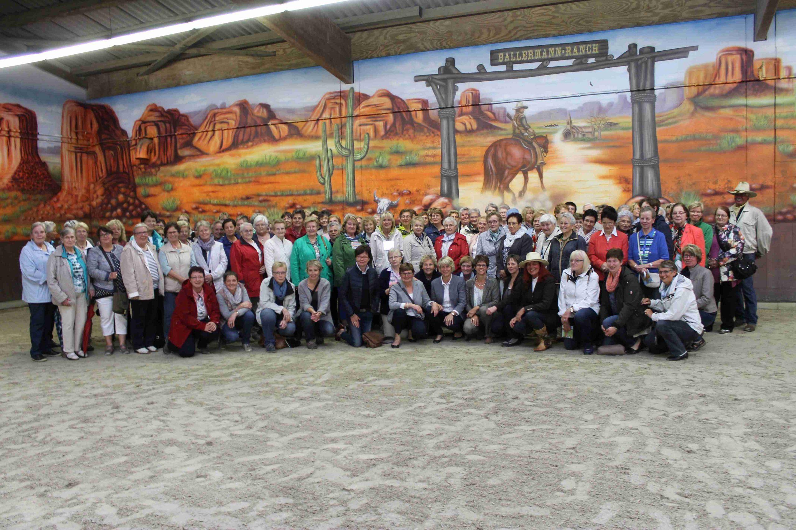 Über 100 Landfrauen