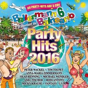 Ballermann 6 Balneario - die Partyhits 2016