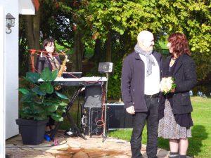 Martina u. Michael Fröhlich - Hochzeit am 10.10.2016 in der St. Leonhard Kapelle Bockwinkel (Ballermann Ranch)