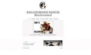 Website der BALLERMANN RANCH