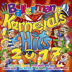 BALLERMANN KARNEVAL-HITS 2017 - Das Original!!