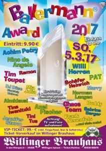 BALLERMANN AWARD 2017