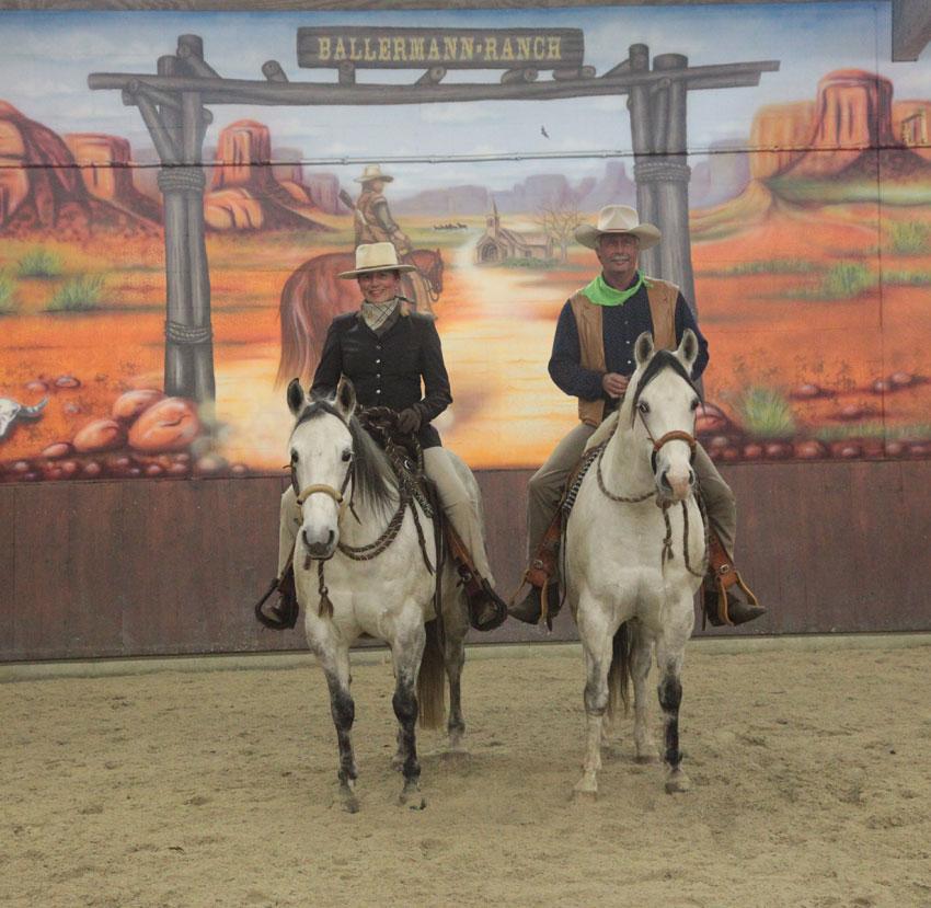 Annette u. Andre Engelhardt - Ballermann Ranch, Blockwinkel
