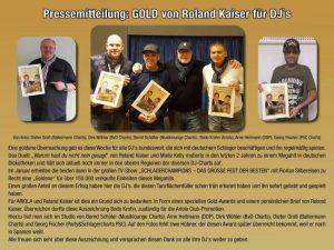 Ballermann CHarts mit Dieter Groß ausgezeichnet.