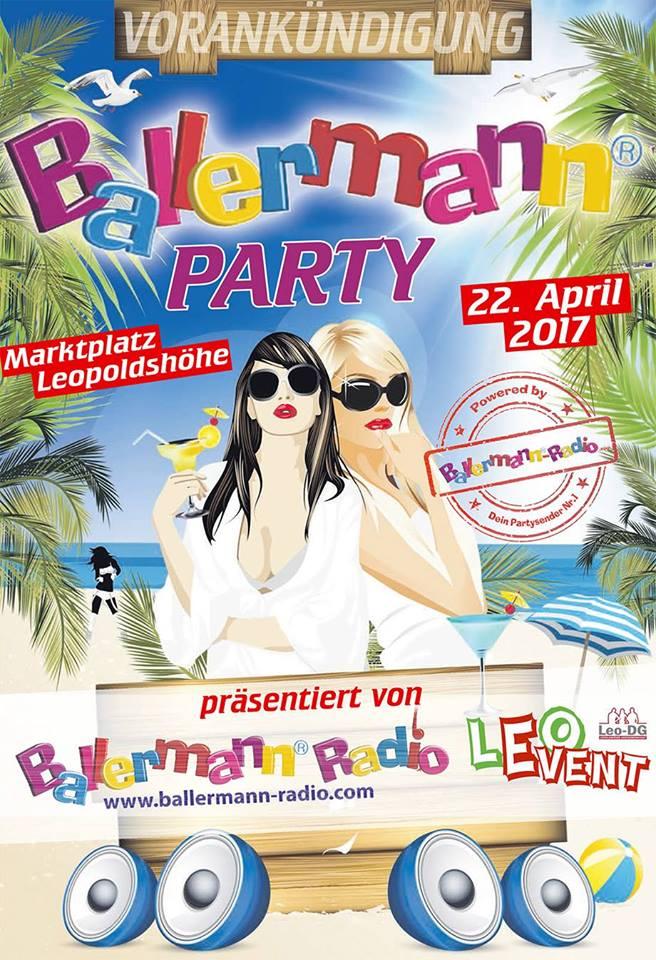 Ballermann Party Auf Der Leopoldshöhe