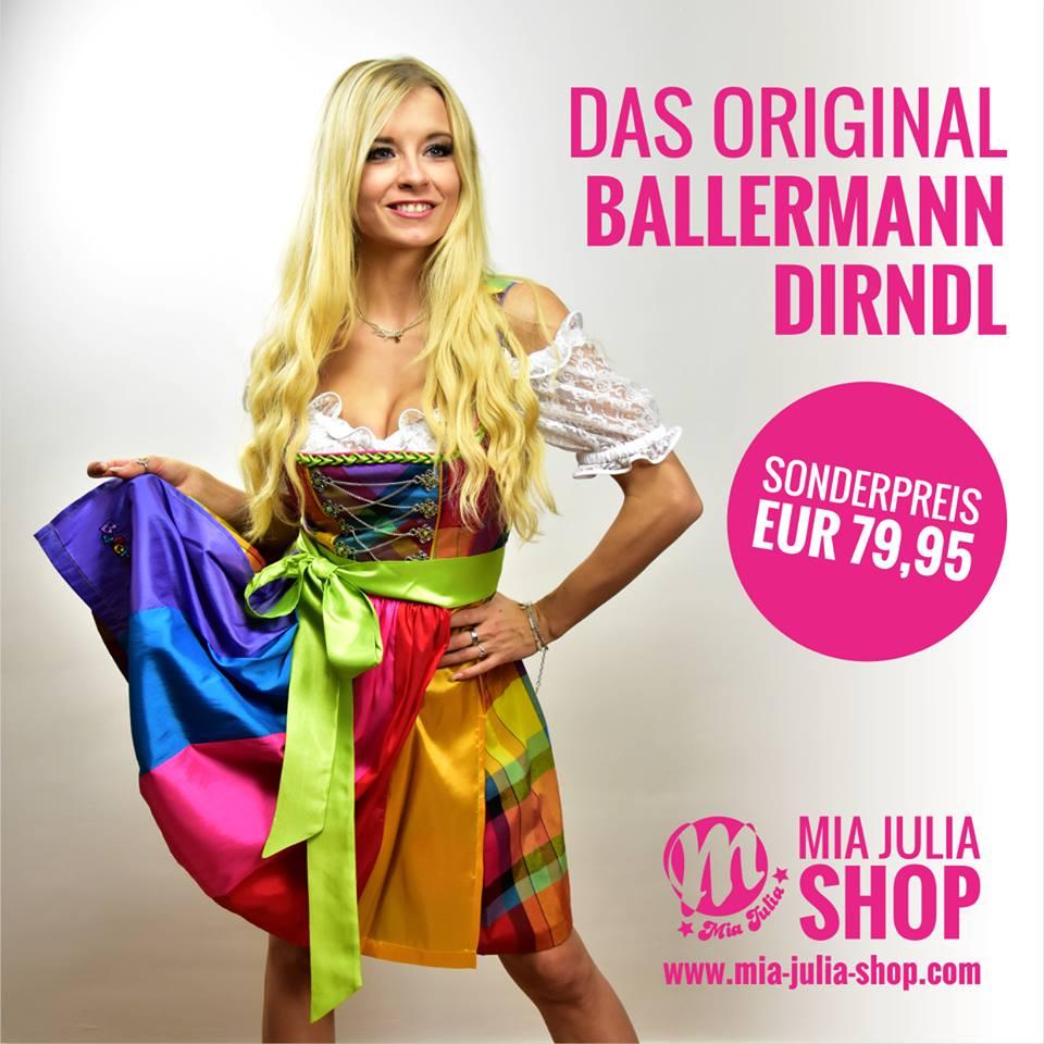 Ballermann Dirndl By Mia Julia