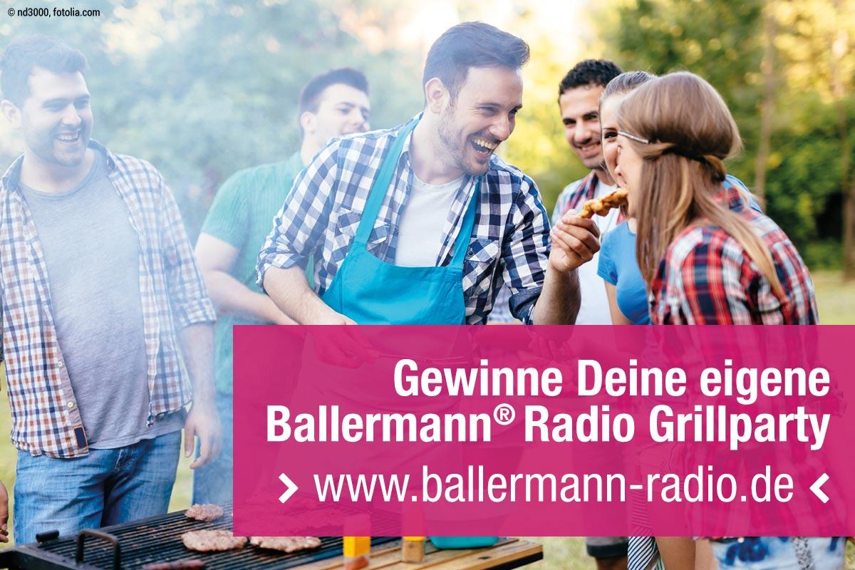 Gewinne Mit Ballermann® Radio Deine Eigene Grillparty