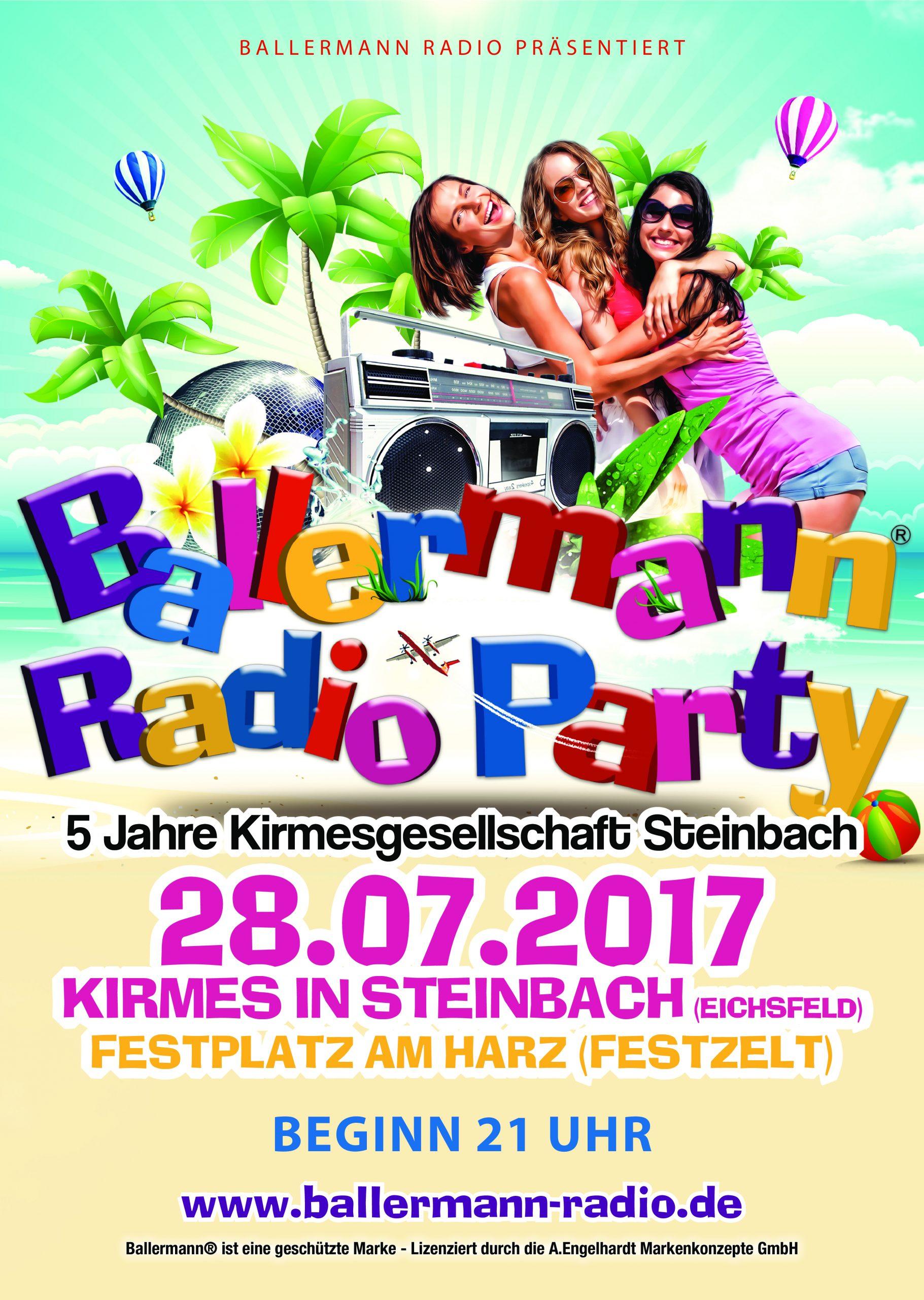 Ballermann Radio Party In Steinbach
