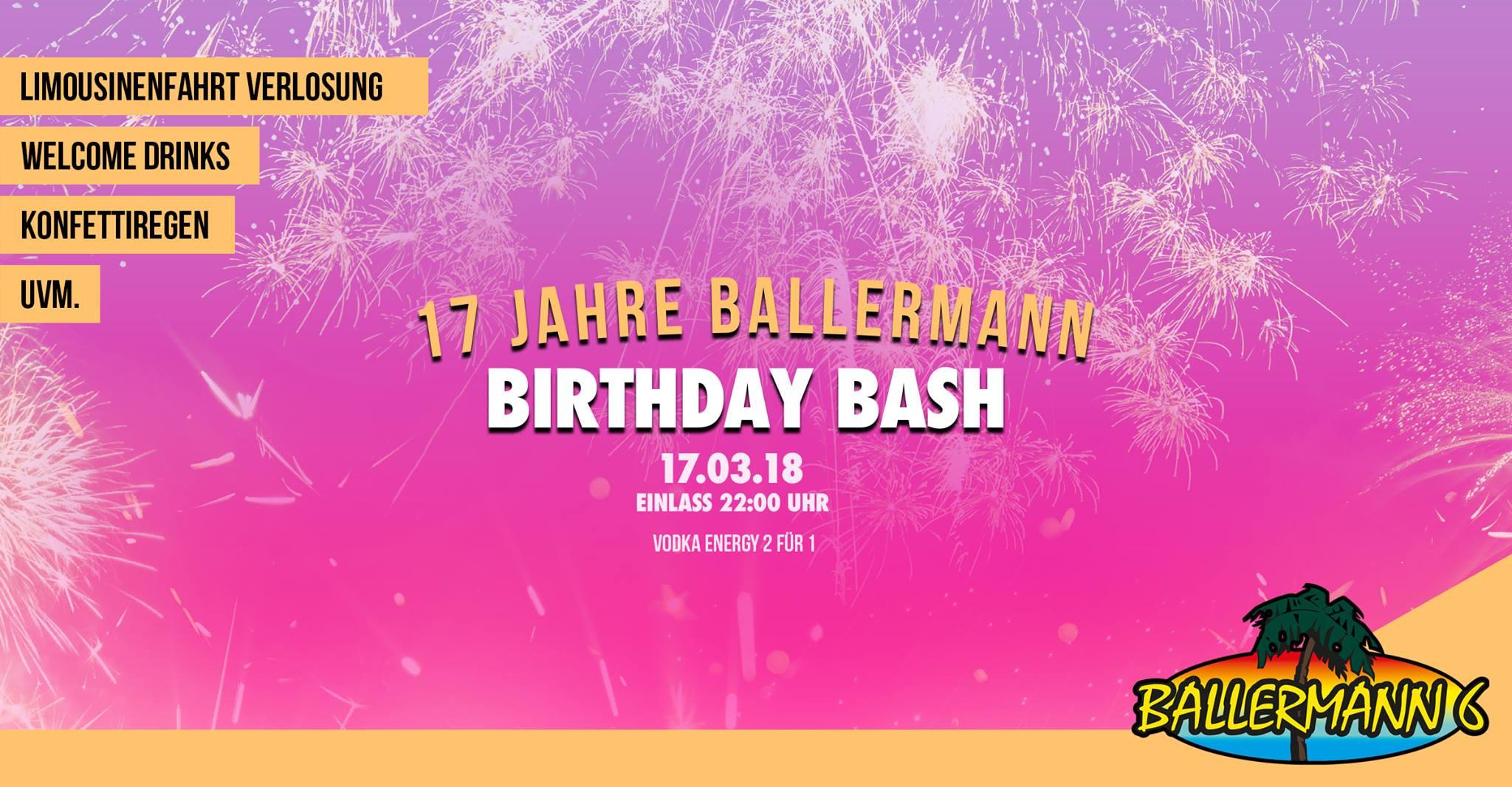 Ballermann Birthday Bash