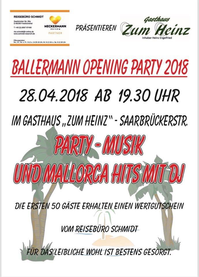 Ballermann Opening Party
