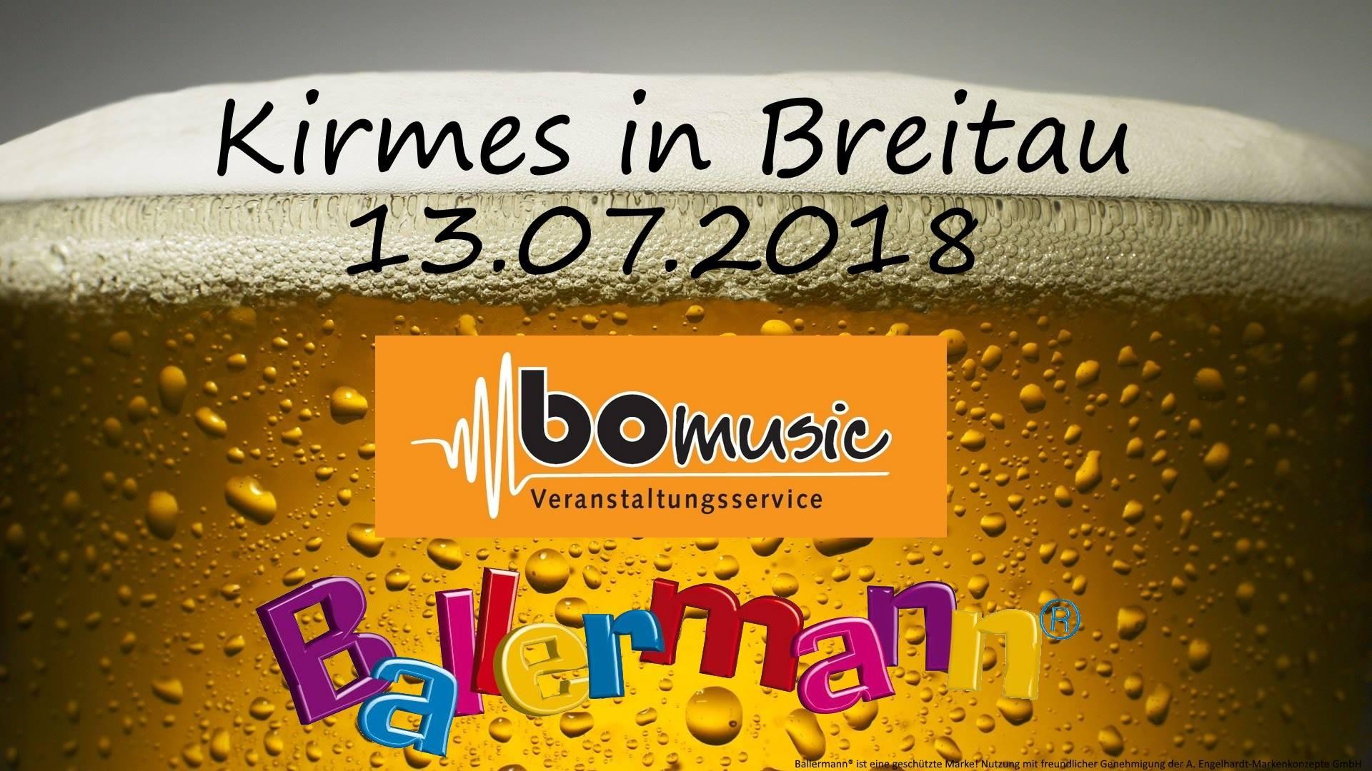 BALLERMANN-Kirmes In Breitau
