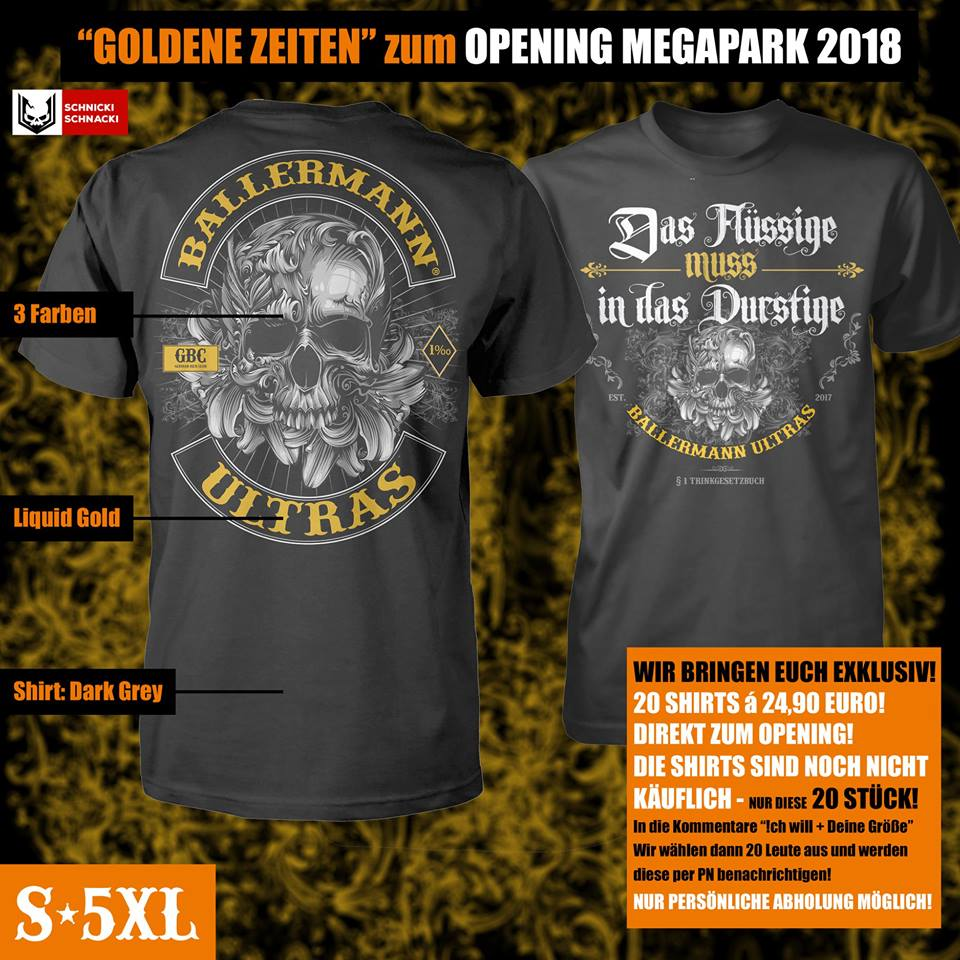 Die NEUEN Shirts 2018