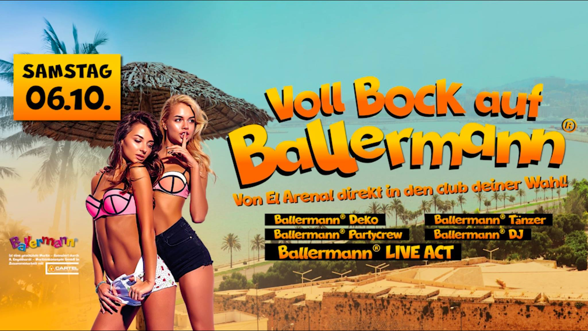 06.10. – BOCK AUF BALLERMANN?