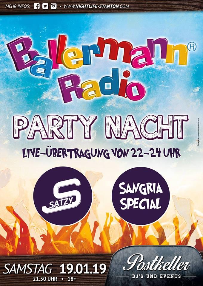 Original BALLERMANN RADIO PARTY-NACHT