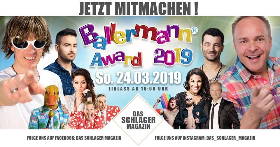 Gewinne Karten Für Den BALLERMANN AWARD