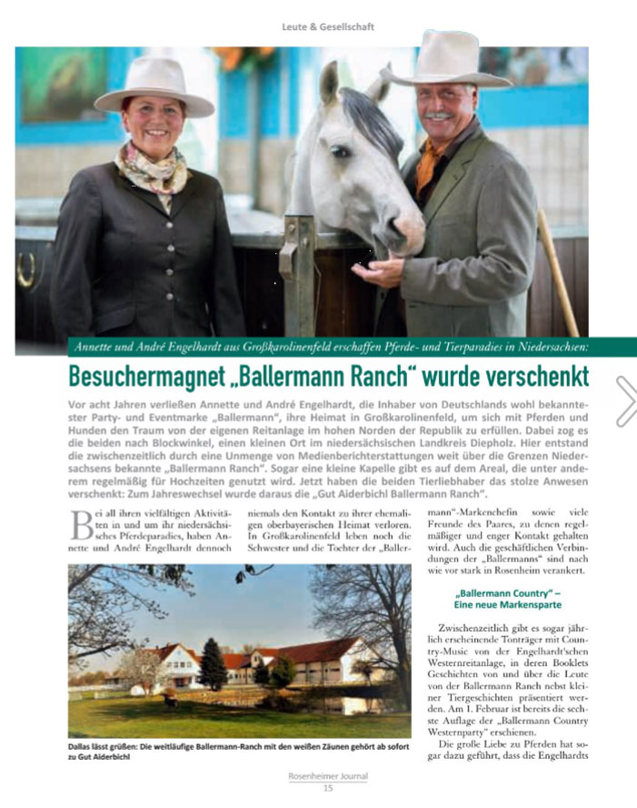 Die 'Ballermann Ranch-Story' im ROJO 01/2019