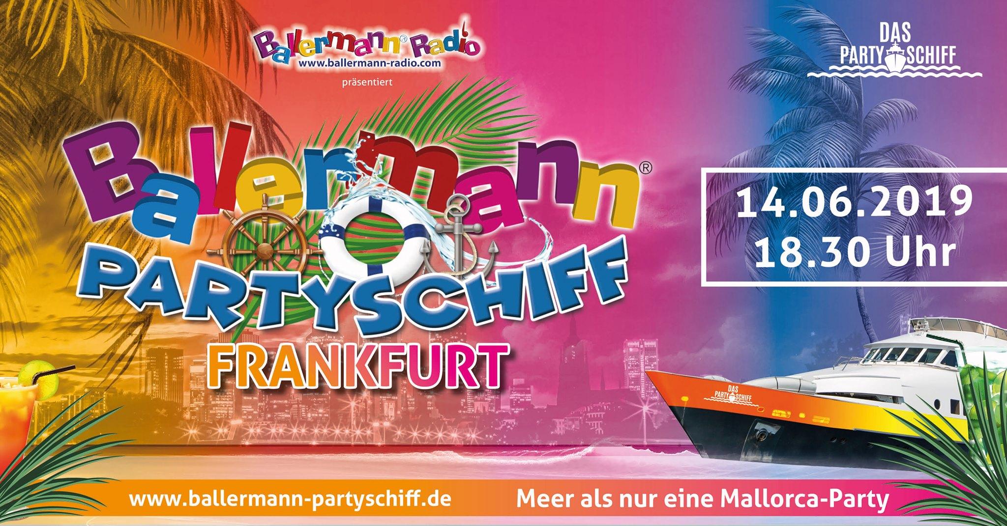 Das Ballermann-Partyschiff