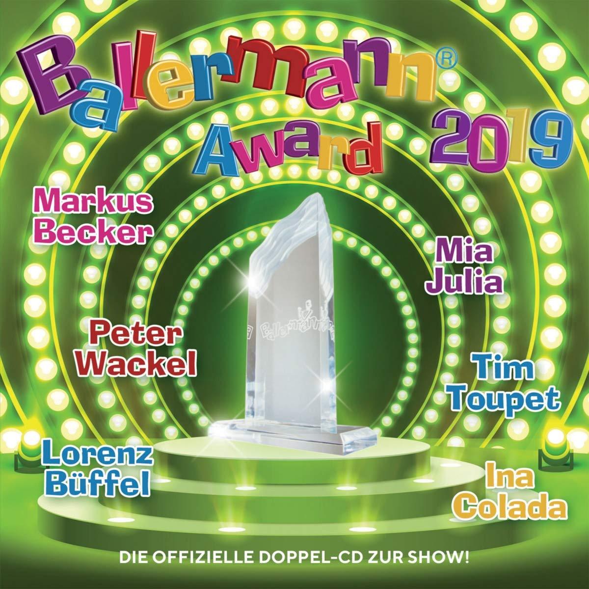 Ballermann Award 2019 - Der Sampler zur großen TV-Show im Deutsches Musik Fernsehen