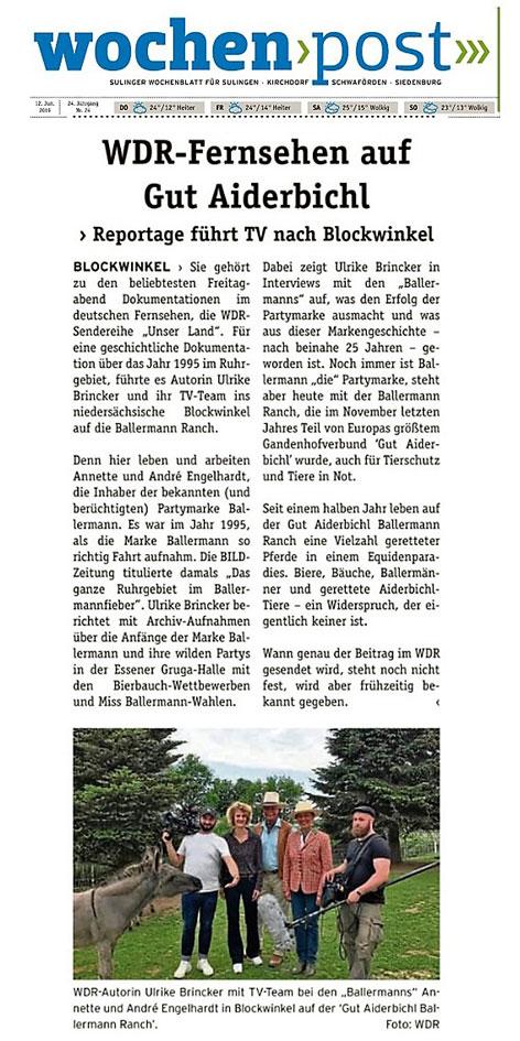 WOCHENPOST Landkreis Diepholz, 26.06.2019