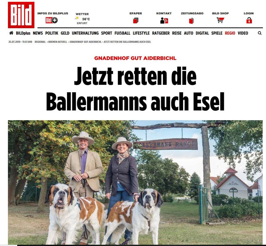 Die BALLERMANNs Retten Esel…